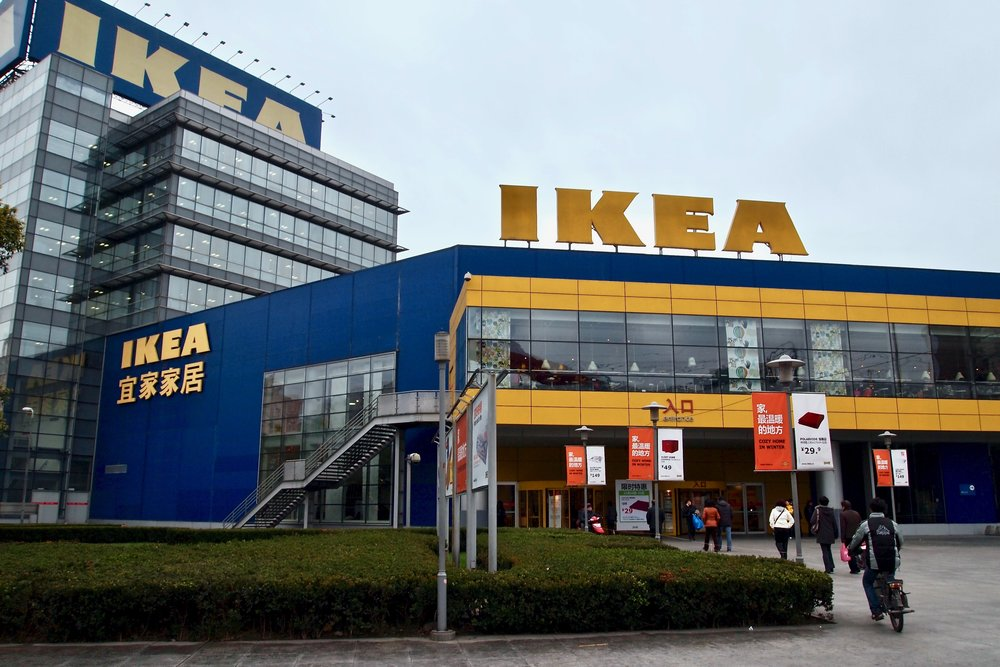 The IKEA branch in downtown Shanghai, China, where elderly go to find romance. (C) Remko Tanis