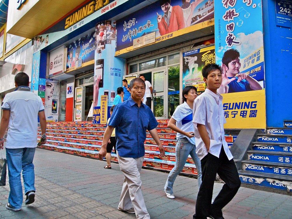 Han Chinese in Urumqi, Xinjiang, China. (C) Remko Tanis