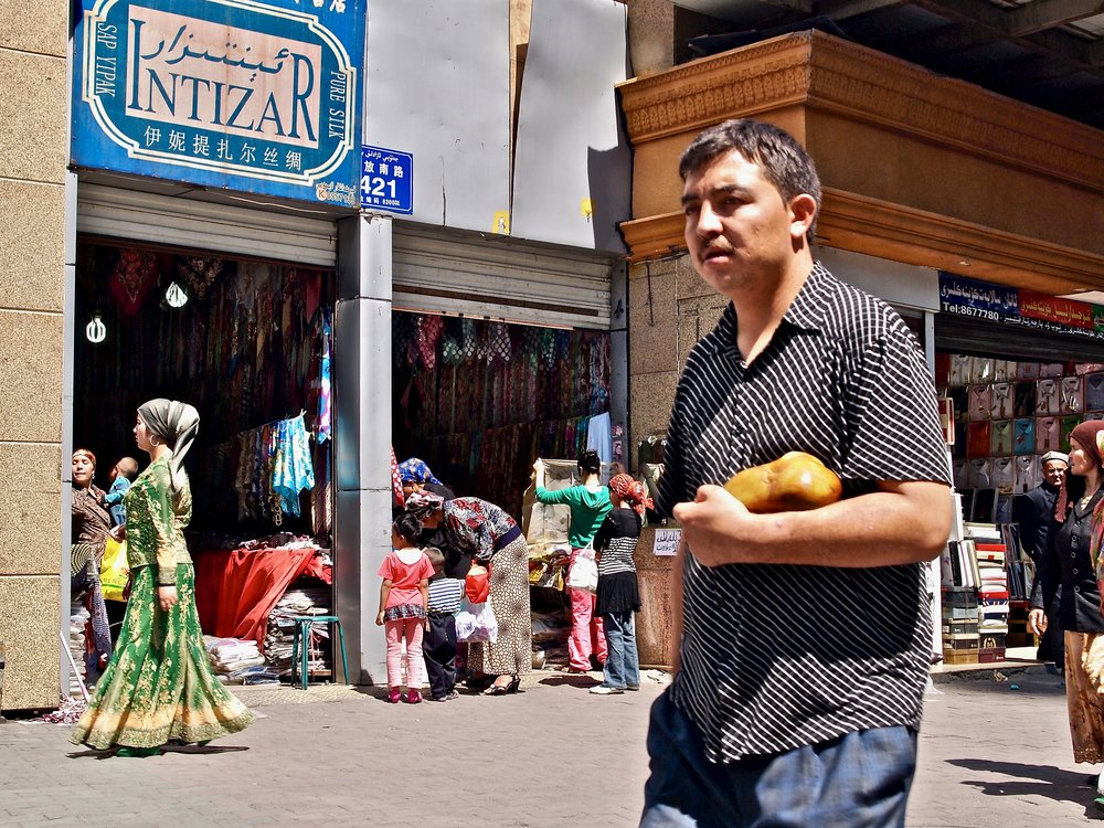 Uighur residents in Urumqi, Xinjiang, China. (C) Remko Tanis