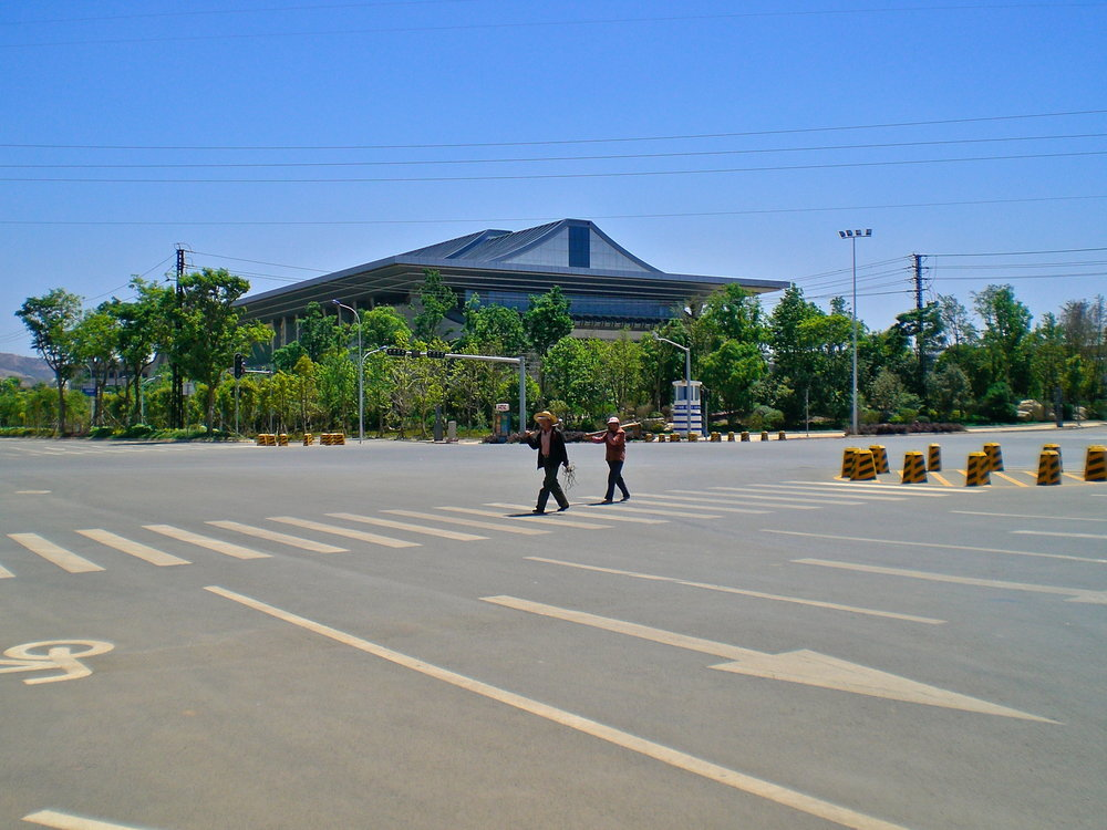 Chenggong, a largely empty district of Kunming, China. Photo: (C) Remko Tanis