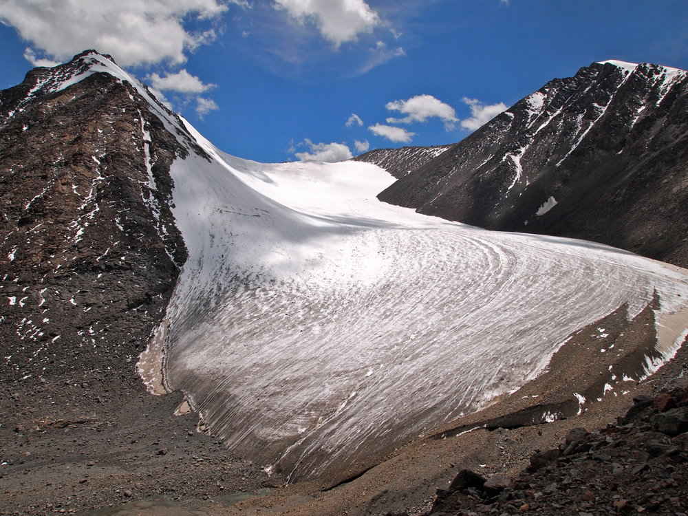 The Tianshan Number 1 Glacier in Xinjiang, China. Photo: (C) Remko Tanis