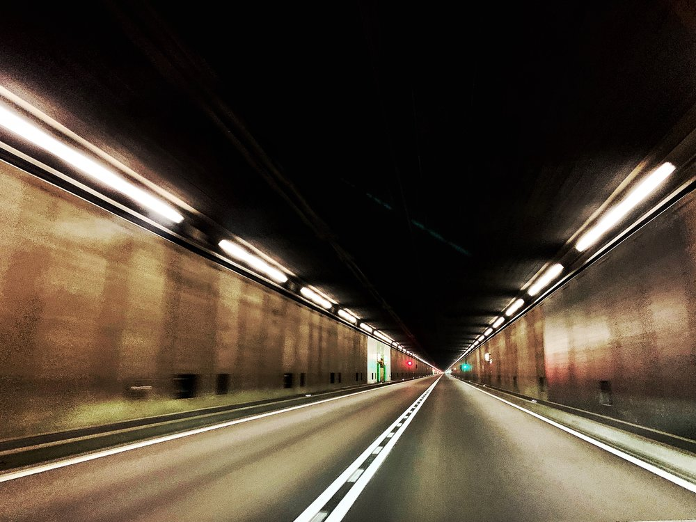 St. Gotthard tunnel underneath the Swiss Alps. Photo: (C) Remko Tanis