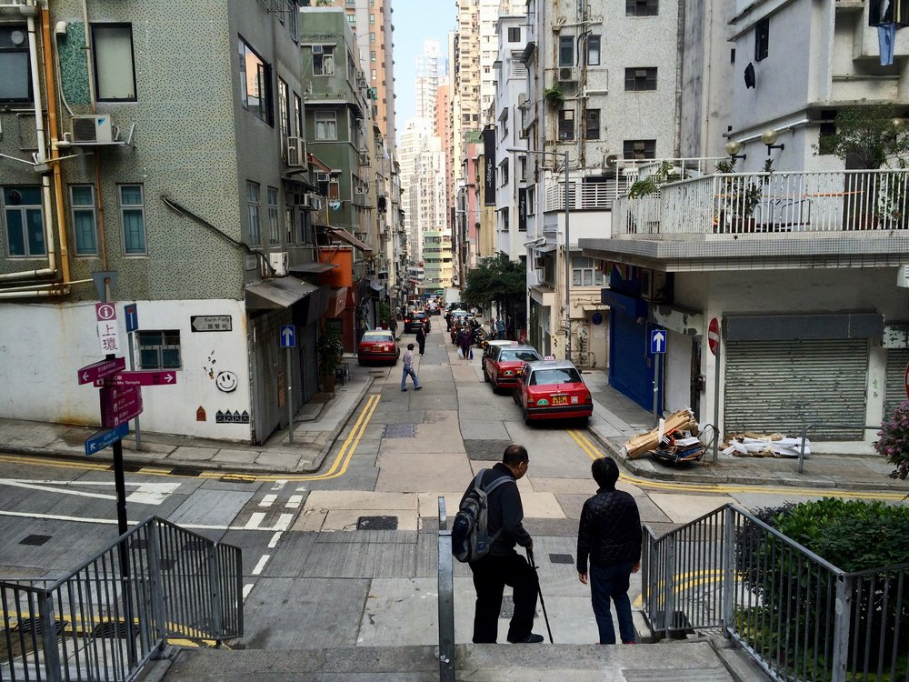 Sheung Wan neighborhood in Hong Kong. Photo: (C) Remko Tanis