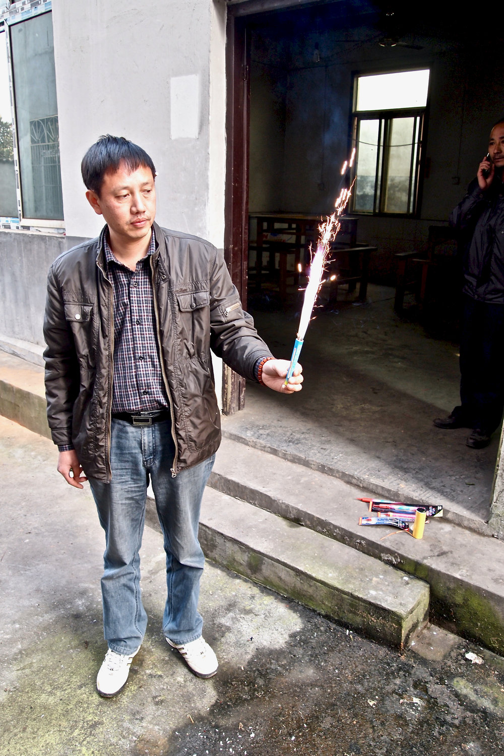 Bo Yuefei, managing director of Dream Fireworks in Liuyang, China. Photo: (C) Remko Tanis
