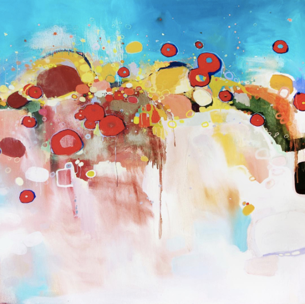 "Untitled (#49), 2014 - Oil on canvas, 42"" x 60"""