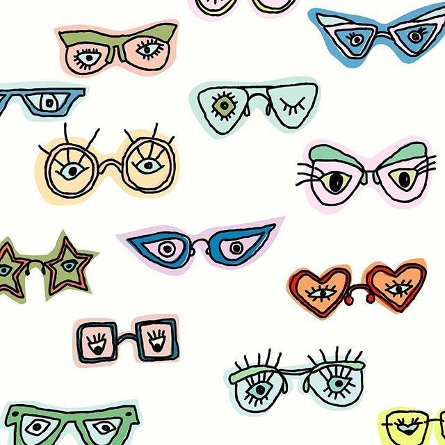 Happy fr(eye)day!! #illustration #patterndesign