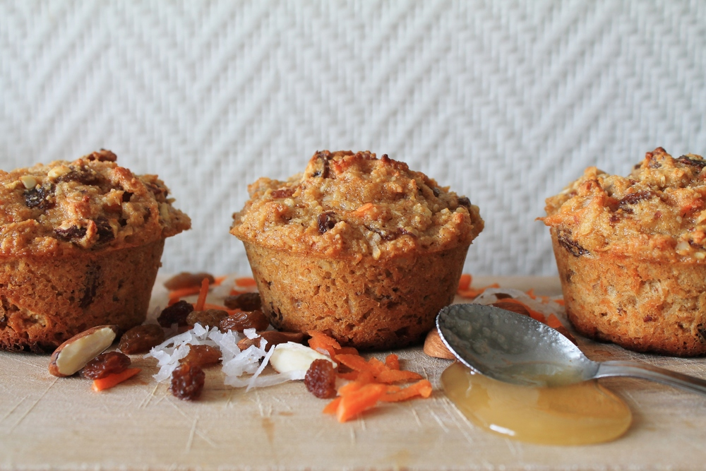 morning glory muffins | roux studio