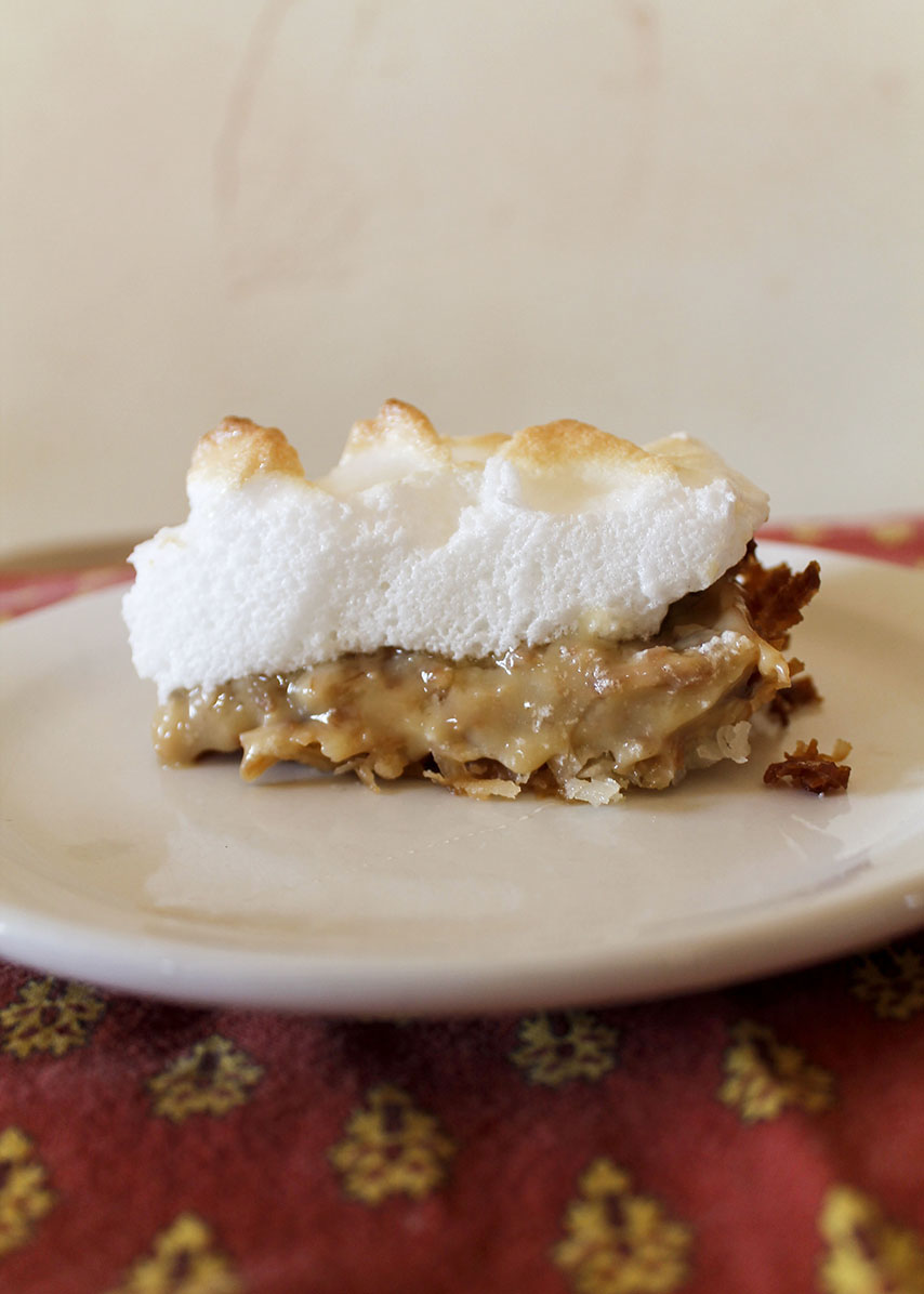 the coconutiest coconut cream pie