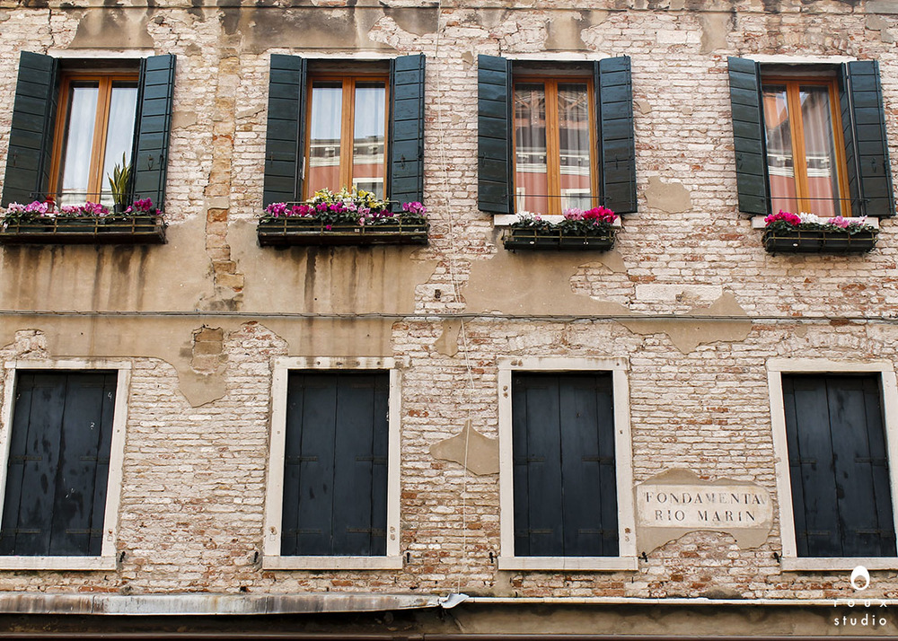 window boxes  venice, italy | april 2014