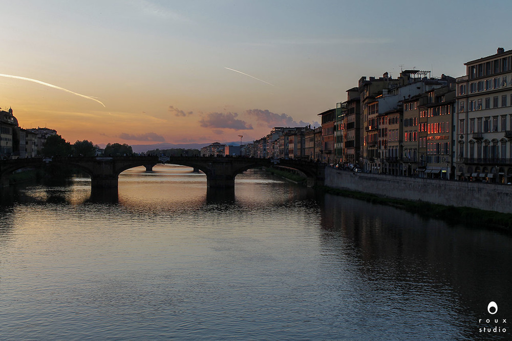 sunset in florence  florence, italy | april 2014
