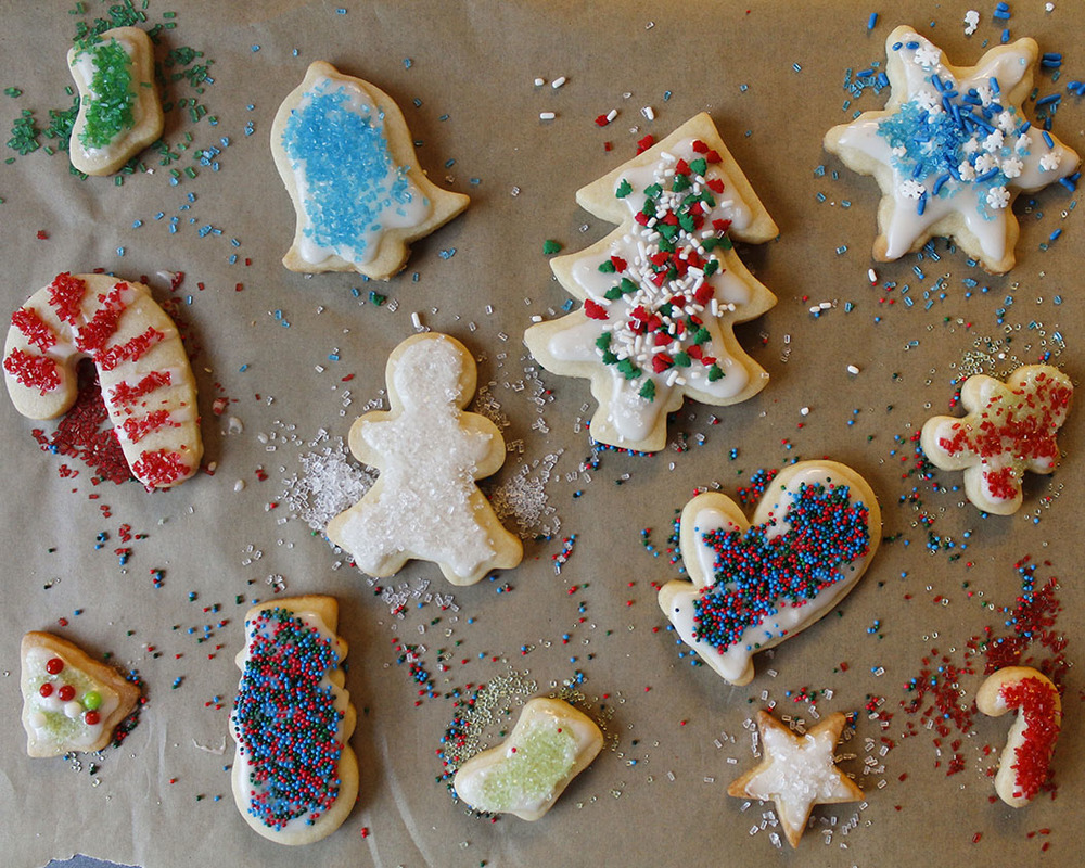 Holiday Cut-Out Sugar Cookies | roux studio