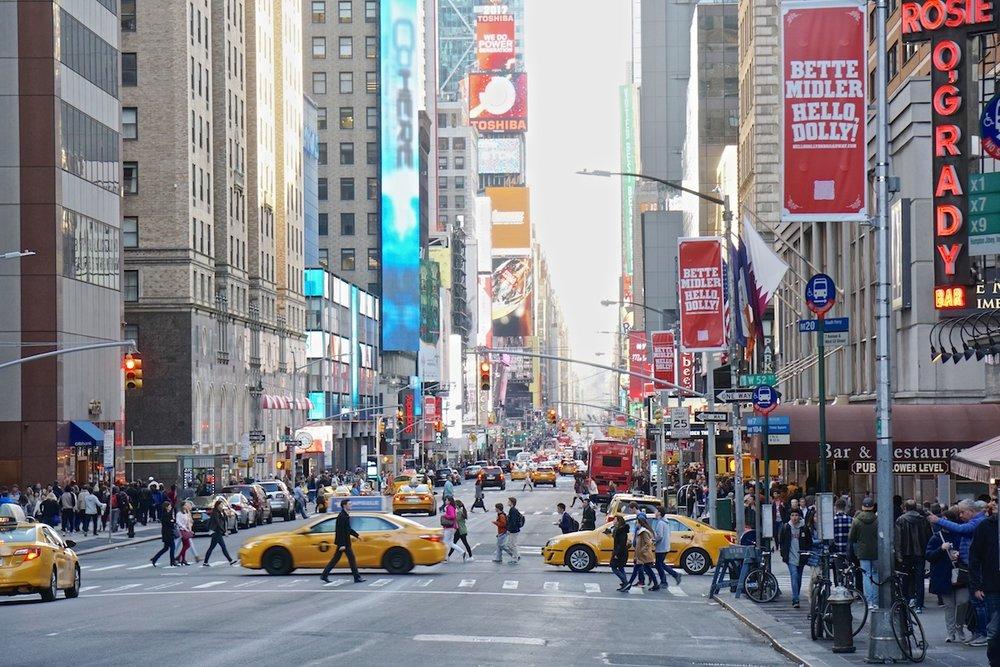 Seventh Avenue, New York City