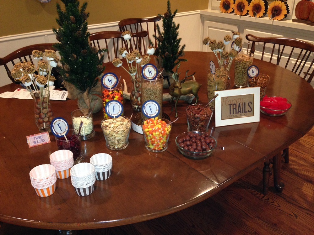 Happy Trails - Trail Mix Bar