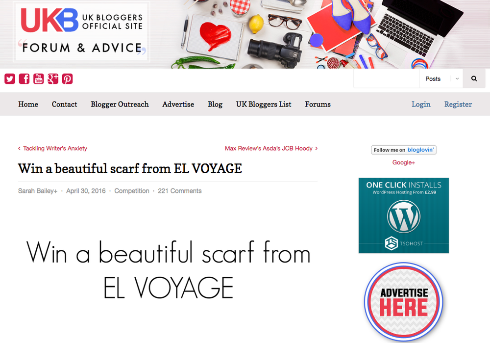ukb bloggers and el voyage