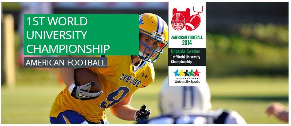 China University team on it's way to the 1st American Football University Championship