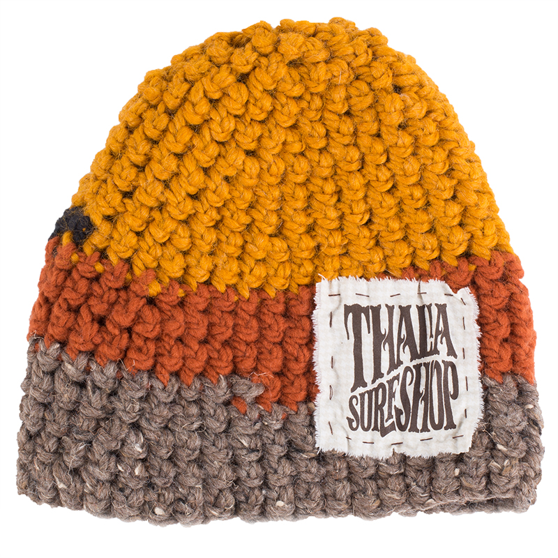 Thalia Surf  just came out with these super soft beanies. No two are alike, so you can score one that suits your unique vibes.