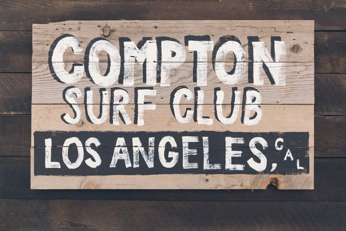 Matix: Ever heard of the Compton Surf Club? Me neither, but it's a real thing Matix helps make happen by bringing inner city kids surfing. Awesome! Like most of us Matix has deep roots in skateboarding, but they love surfing, hiking, and just being outsiders. Outsiders find their own path.