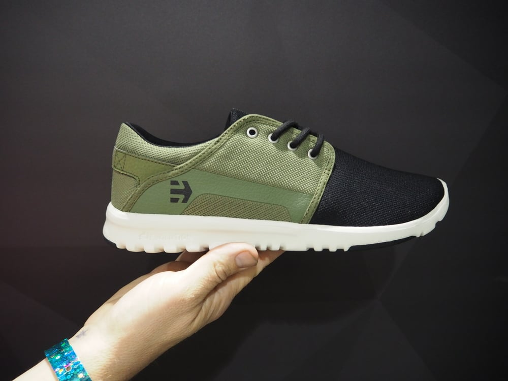 etnies:  Skate to the hiking trail in these eco-friendly shoes.