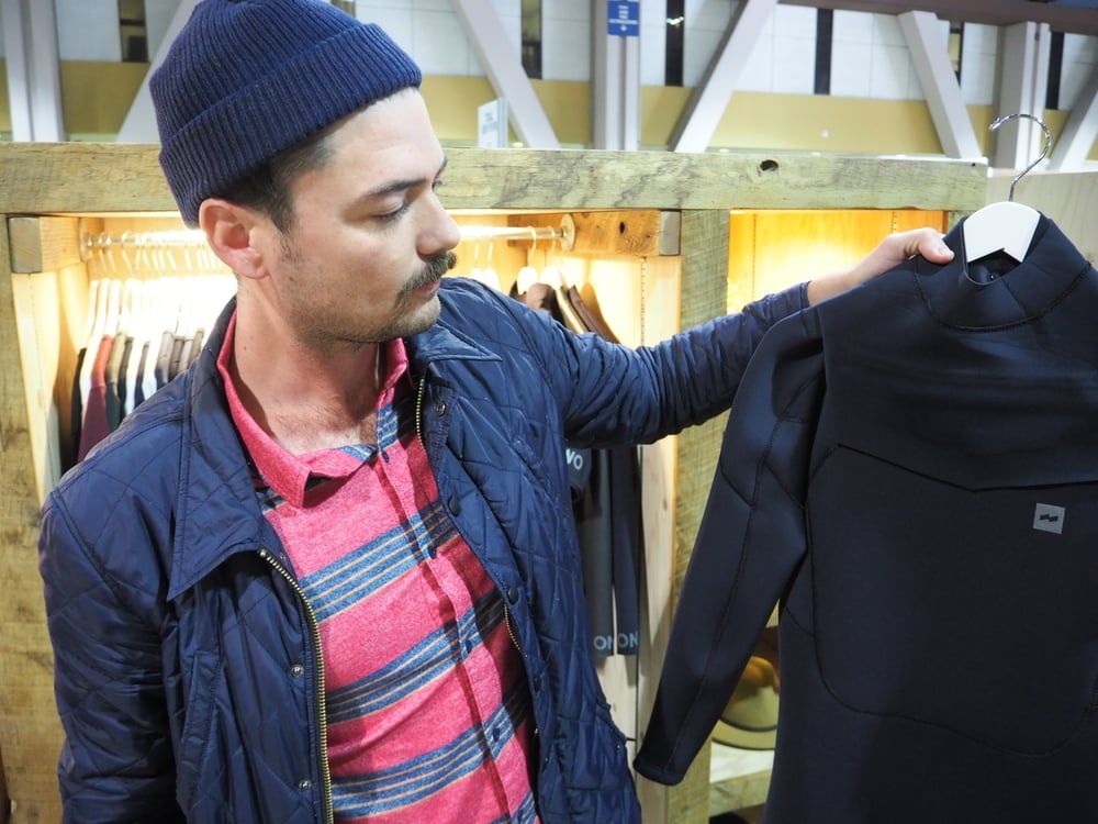 """Banks:   This men's wear is so nice and clean I feel kewl just looking at their stuff. Looks like they're making wetsuits now too! Can I say """"FAWK YES!"""" without loosing my kewl? Probably not."""