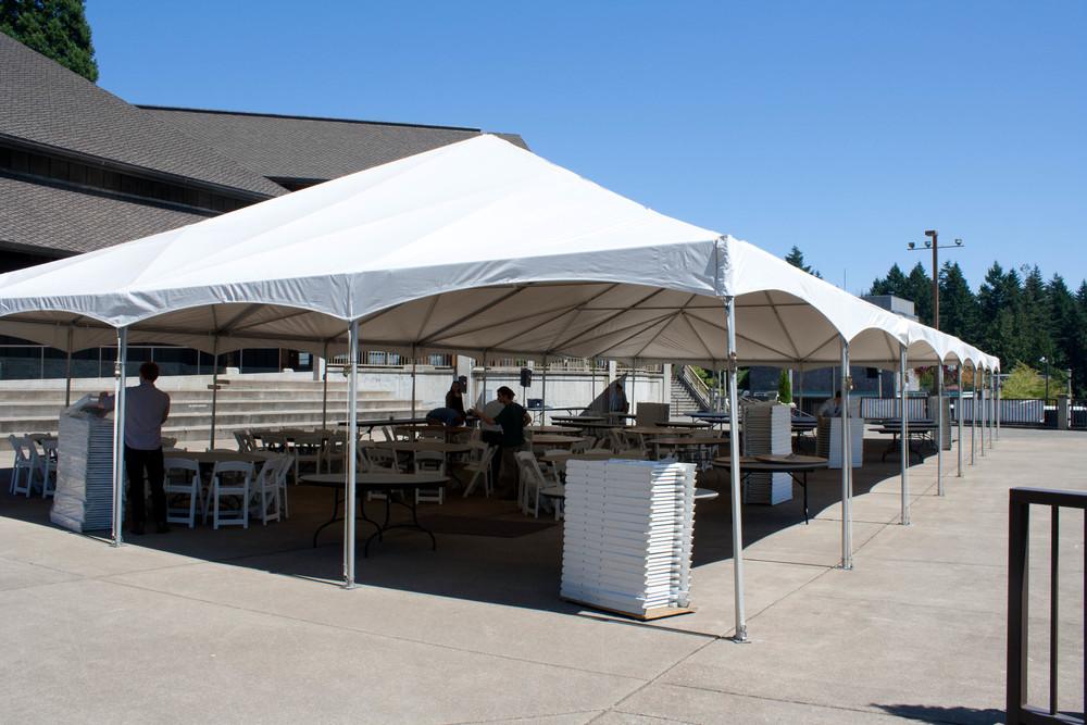 Maker's Market Tent