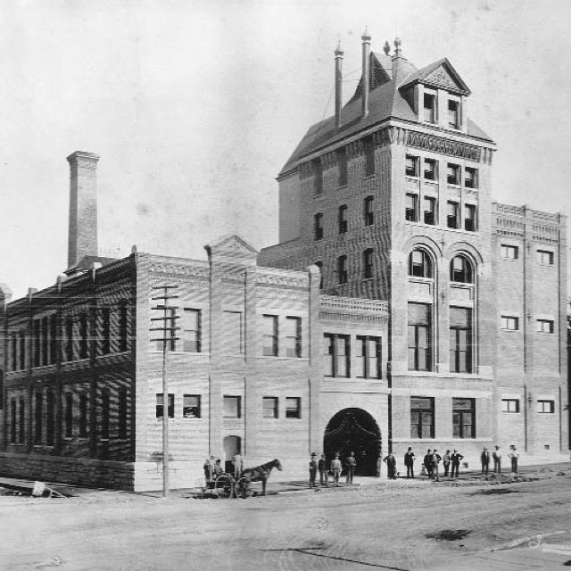The Victoria Brewery, 1898