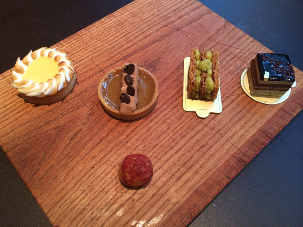 Mini-desserts at Opera Bombana Image (c) Zandie Brockett, 2014