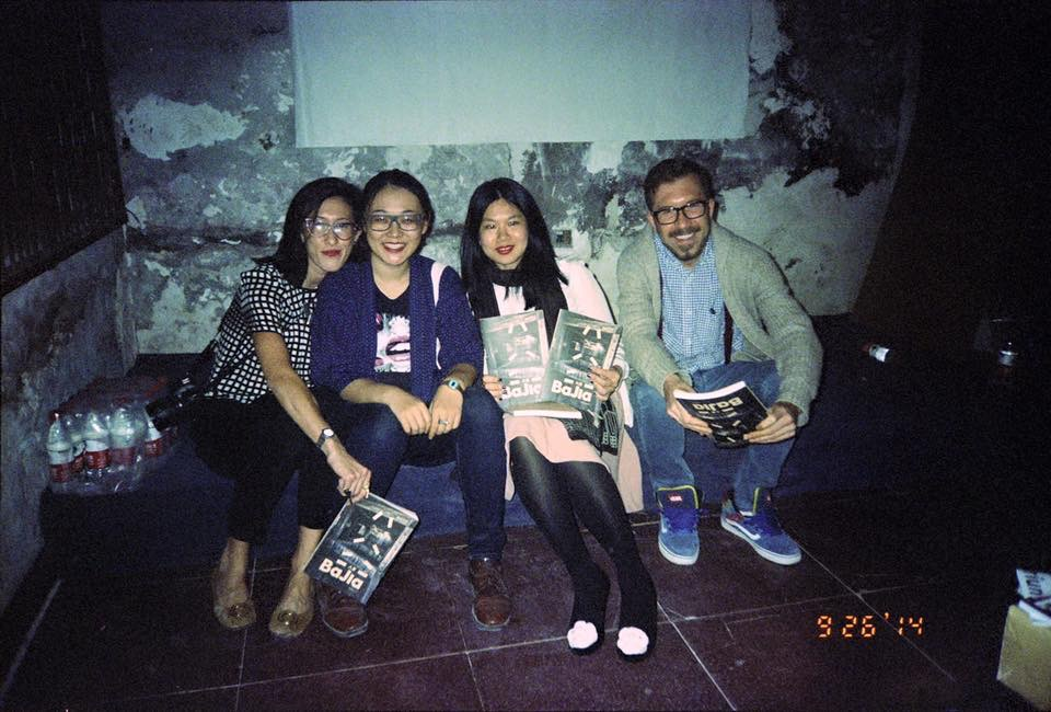 Left to Right: Zandie, Stelart Wang, Lijie Wang and Kyle Skor