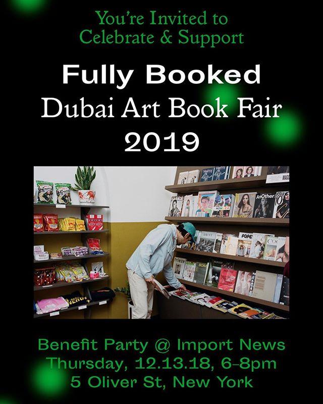 #八家Bajia make a showing at #importbooks in NYC this Thursday, Dec. 13. Pick up your copy and support the upcoming third annual @fullybooked.ae art book fair in #dubai!