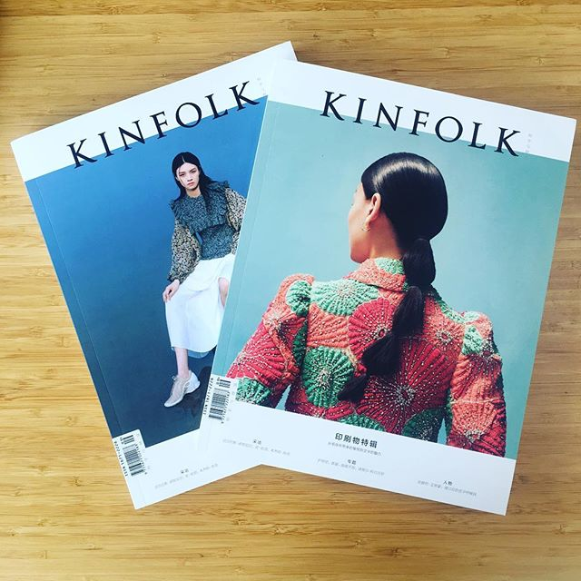 Thanks to @kinfolk #china for featuring #八家bajia in the Autumn/Winter 2018 issue on why #printmatters. Interview with Editor-in-Chief @zandiebrockett discusses the importance of developing a cross-disciplinary bilingual publishing platform for research in contemporary China.