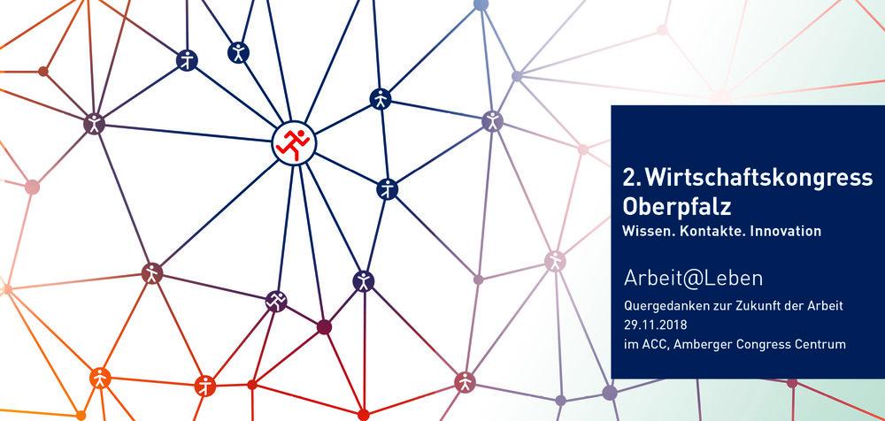 Infos zum Programm und Sponsoring:  http://www.wirtschaftskongress-oberpfalz.de