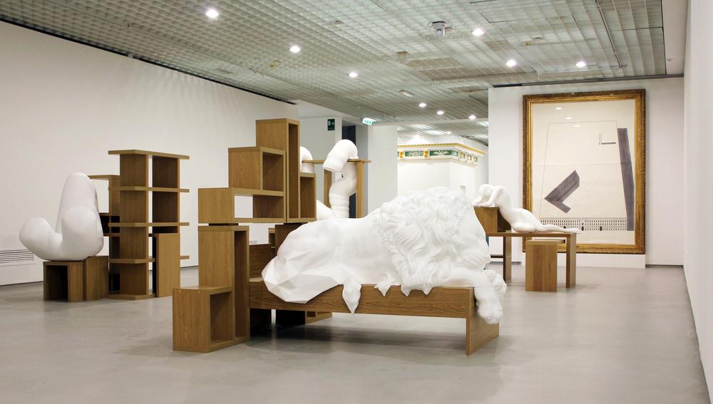 Ideal Standard Forms  Installation View  Galleria d'Arte Moderna, Turin, IT  2013