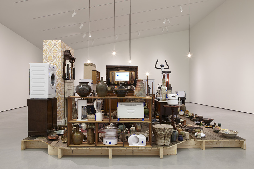 Matthew Darbyshire: The W.A Ismay Collection  Installation View  Hepworth Wakefield, UK  2014