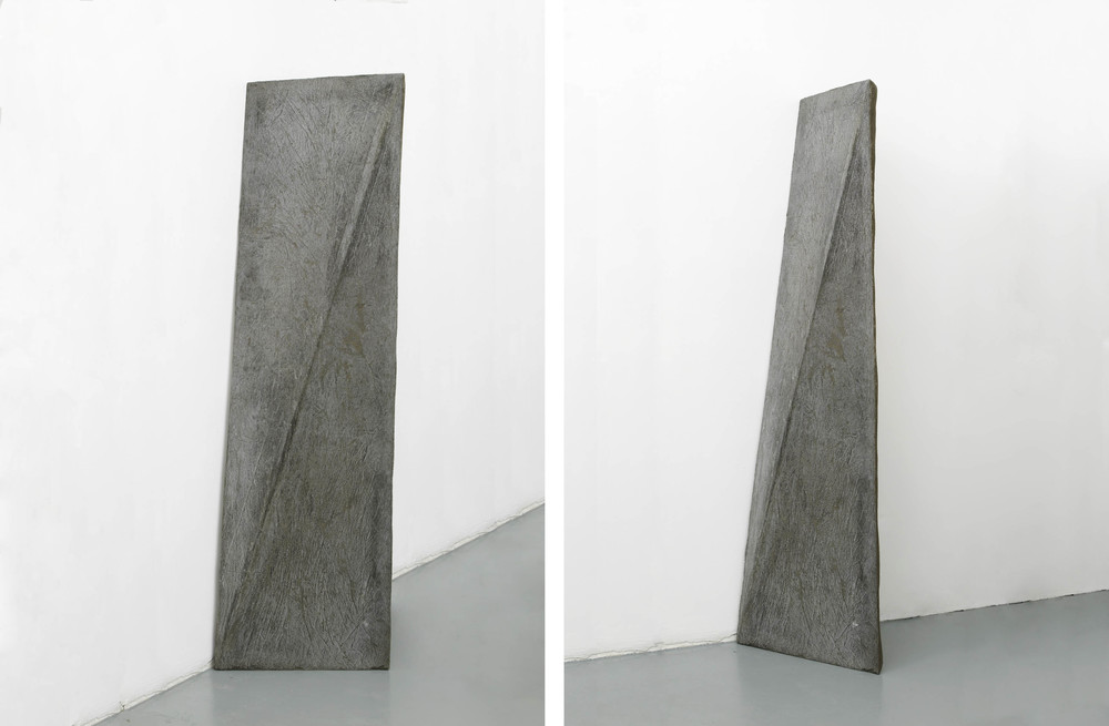 a (working title)  2012  Concrete  175 x 50 x 5 cm / 68.8 x 19.6 x 2 in