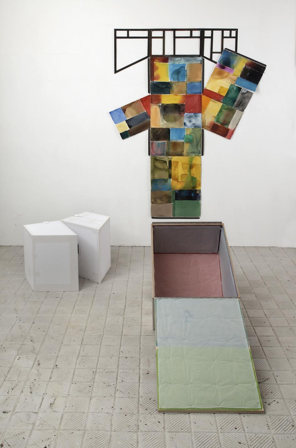 Sculpture of an idea of a painting of you 2009 Installation view