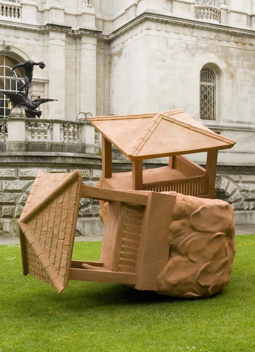 The Large Huts 2007 Installation view Tate Britain, London