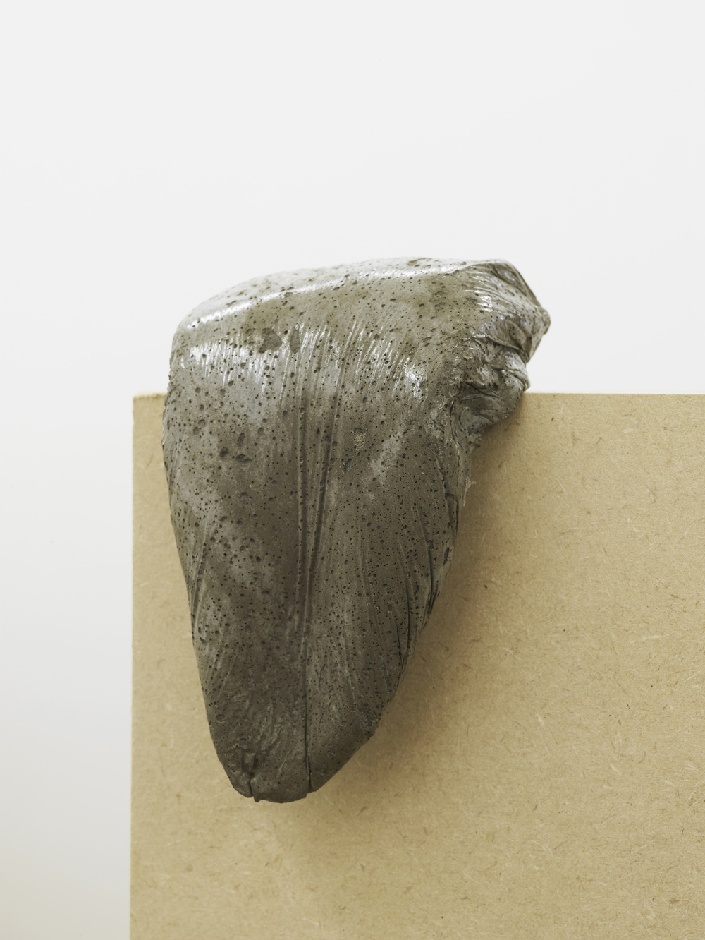analogue series (tongue) 2013 Concrete 12.5 x 8.5 x 8 cm / 4.9 x 3.3 x 3.1 in