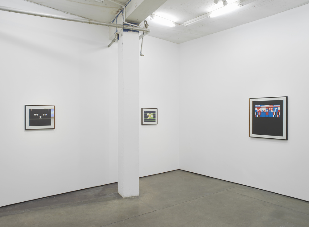 Installation view   Herald St, London   2013