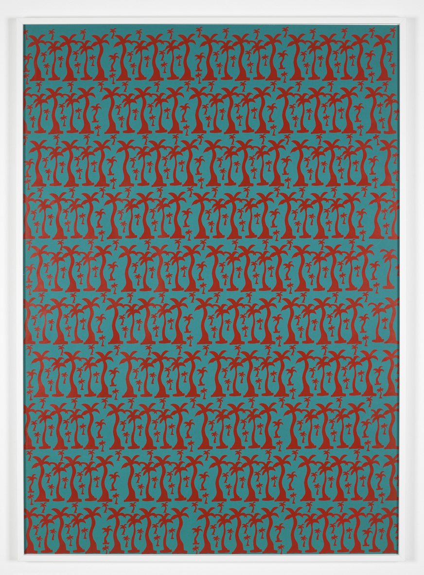 Untitled  1968/9  Screenprint  120 x 90 cm / 47.2 x 35.4 in, framed