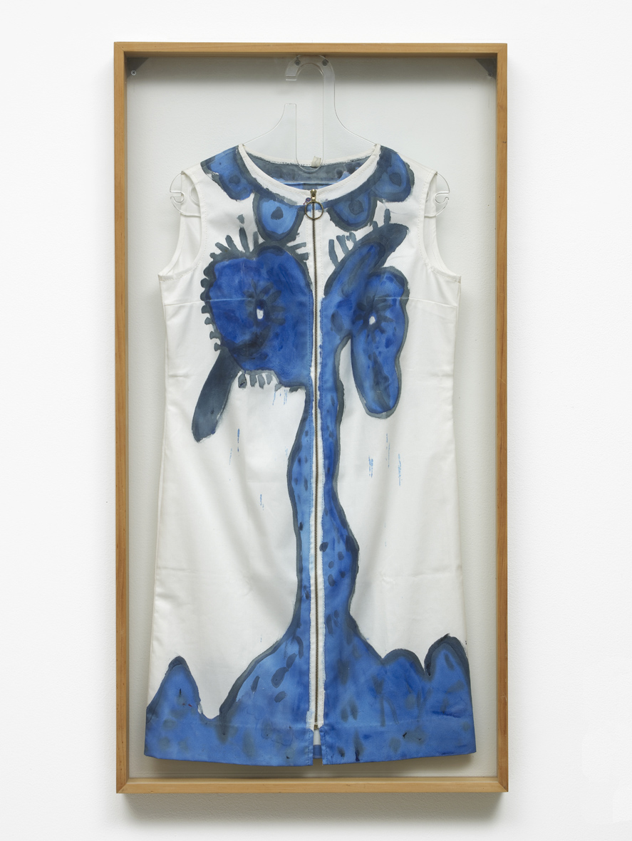 Untitled  1969  Painted dress from a painting performance  108 x 50 cm / 42.5 x 19.6 in