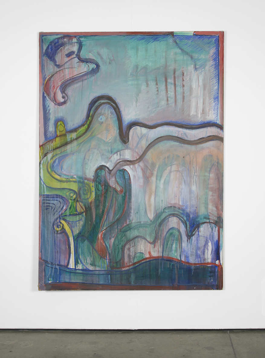 Untitled  1969  Oil on canvas  200 x 140 cm / 78.7 x 55 in