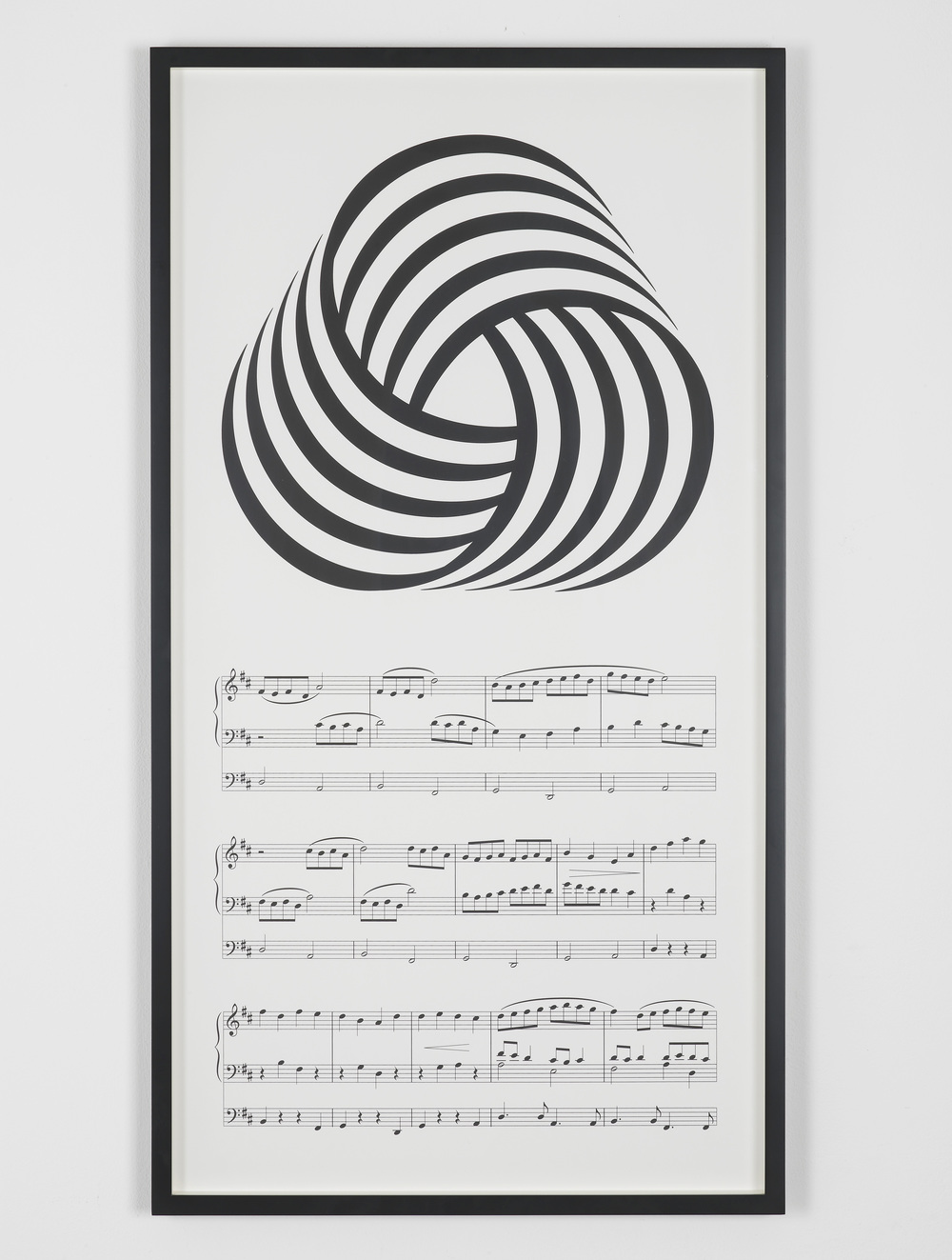 Ideology and The Mass Media (I Was Seduced, Not Abused) 2012 Screenprint 85 x 45 cm / 33.4 x 17.7 in