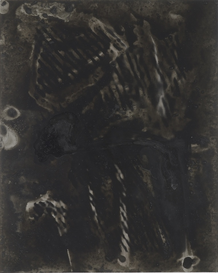 Untitled   2011   Ink, dyes and mixed media on silver gelatin print   25.4 x 20.3 cm / 10 x 8 in