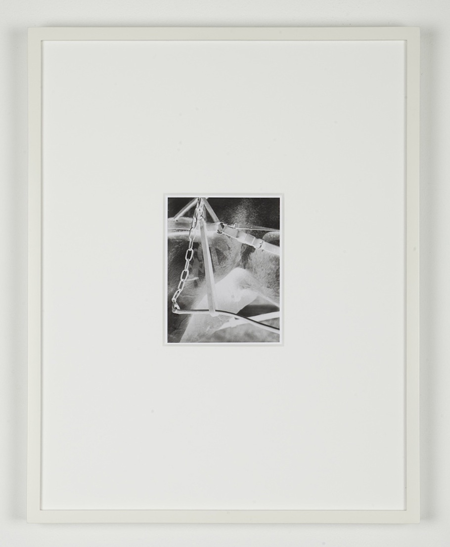 Simon Martin Untitled. Negative (After Alfred Stieglitz) 2011 Silver gelatin print 41 x 32 cm / 16.1 x 12.5 in