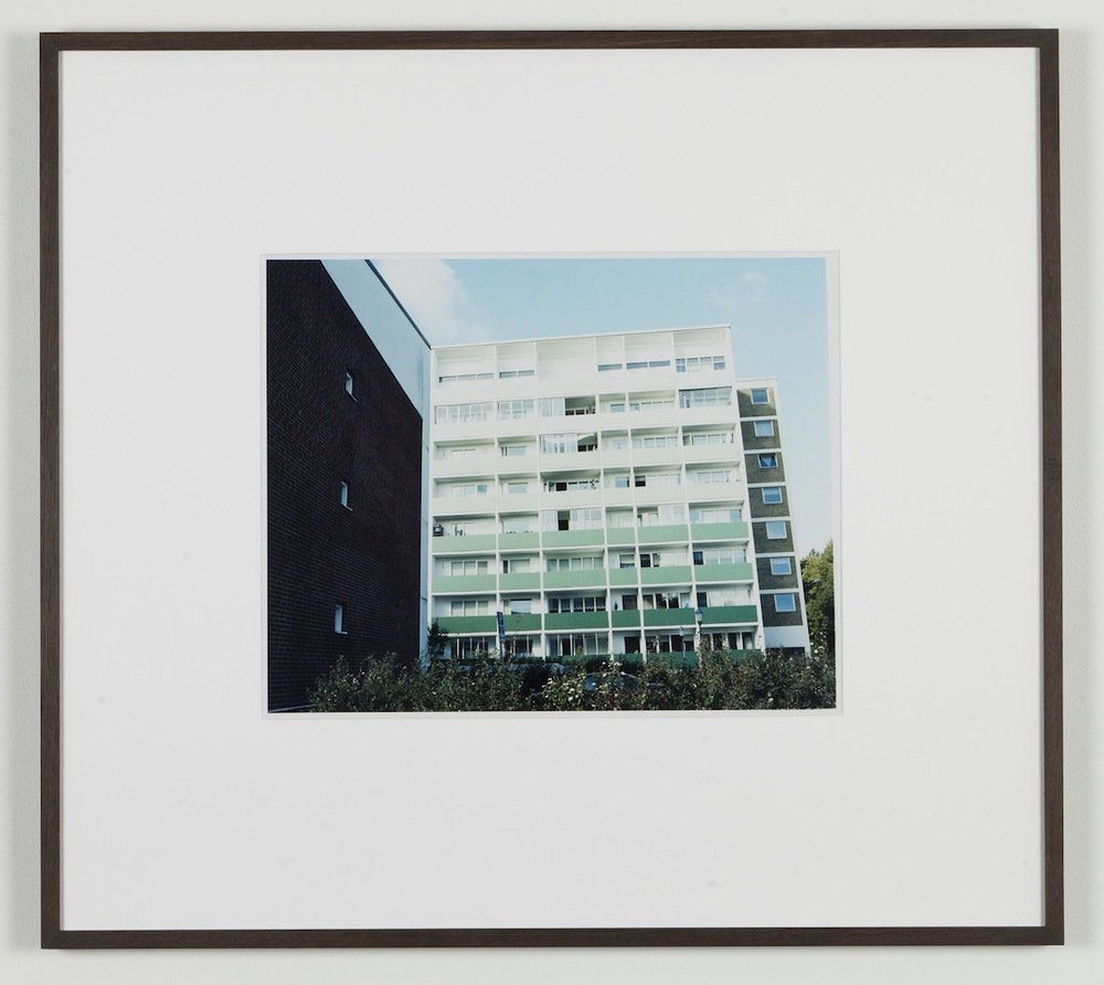 Fredrik Vaerslev My Architecture (Malmoe #01) 2008-2011 Chromeogenic print on fuji archival grey photo paper 65 x 72.5 cm / 25.5 x 28.5 in framed