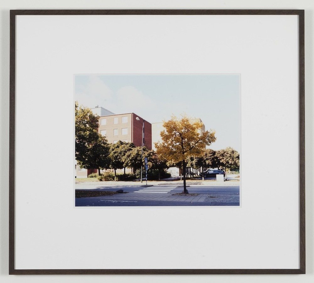 Fredrik Vaerslev My Architecture (Malmoe #02) 2008-2011 Chromeogenic print on fuji archival grey photo paper 65 x 72.5 cm / 25.5 x 28.5 in framed