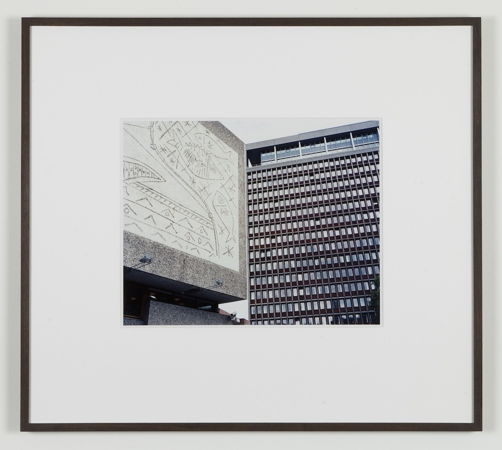 Fredrik Vaerslev My Architecture (Oslo #11) 2008-2011 Chromeogenic print on fuji archival grey photo paper 65 x 72.5 cm / 25.5 x 28.5 in framed