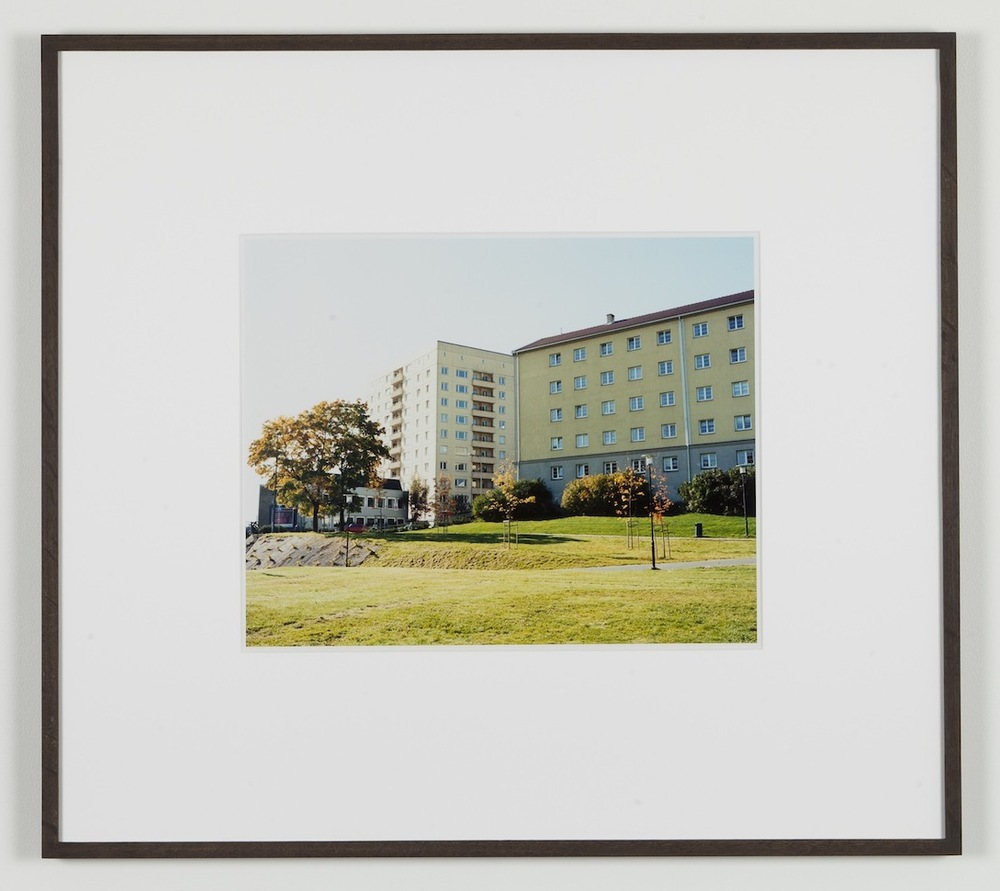 Fredrik Vaerslev My Architecture (Oslo #12) 2008-2011 Chromeogenic print on fuji archival grey photo paper 65 x 72.5 cm / 25.5 x 28.5 in framed