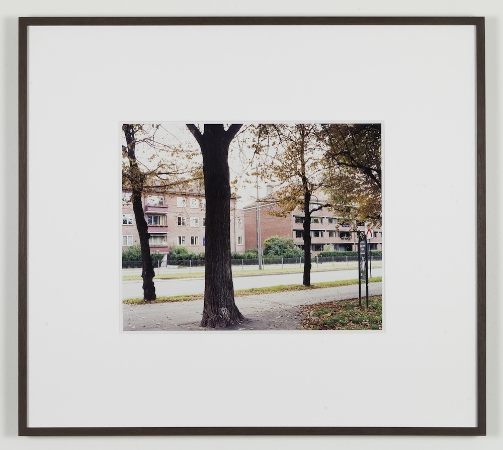 Fredrik Vaerslev My Architecture (Oslo #14) 2008-2011 Chromeogenic print on fuji archival grey photo paper 65 x 72.5 cm / 25.5 x 28.5 in framed