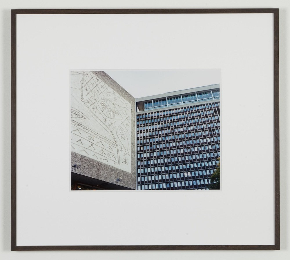 Fredrik Vaerslev My Architecture (Oslo #15) 2008-2011 Chromeogenic print on fuji archival grey photo paper 65 x 72.5 cm / 25.5 x 28.5 in framed