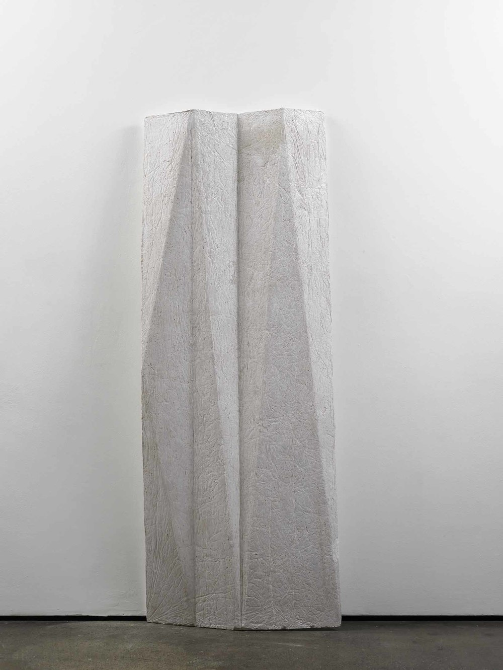 cope (working title)   2011   Concrete   200 x 76 x 13 cm / 78.7 x 30 x 5 in